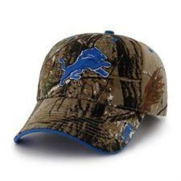 DCCKG8Q NFL Detroit Lions Realtree Xtra MVP Adjustable Hat