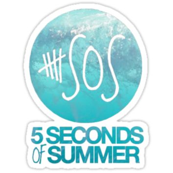 5 seconds of summer logo ocean shirt