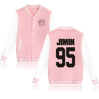 BTS Bangtan Boys Kpop Korea PInk Ladies Female fashion Jacket obssessed fan SQ12017