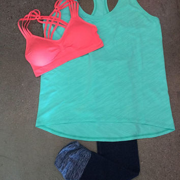 Racerback Workout Tank