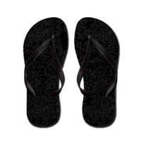 Black Animals Flip Flops> Fine Art> abrakadabra