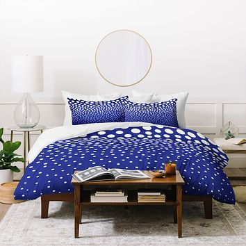 Elisabeth Fredriksson Blueberry Twist Duvet Cover
