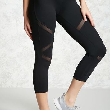 Active Mesh Panel Leggings