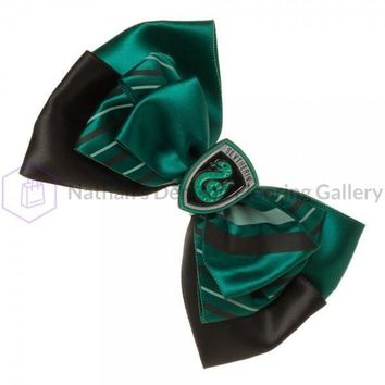 Harry Potter Slytherin Bow