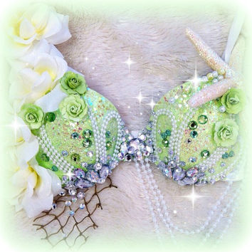 Mint Green Mermaid Bra