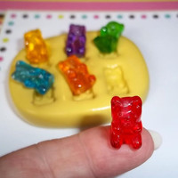 Gummy Bear Flexible Mold Mould For Resin Paper Clay by TheMoldHut