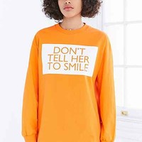 Silence + Noise Dont Tell Her To Smile Tee - Urban Outfitters