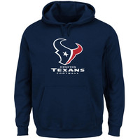 Houston Texans Critical Victory Pullover Hoodie - Navy Blue