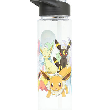Pokemon Eevee Evolutions Water Bottle