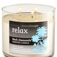 3-Wick Candle Relax - Black Chamomile