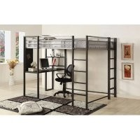 Roc Contemporary Bunk Bed Size: Full