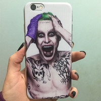 For iPhone 6S Case Suicide Squad Joker Harley Quinn Soft TPU Gel Skin Protective Cover for iPhone 6 6S 4.7 inch