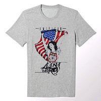 Lana Del Rey Born To Die American Flag T Shirt