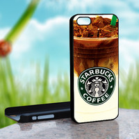 STARBUCKS COFFEE - Design on Hard Case for iPhone 4/4S Black Case Cover - Please Leave note for the case color: White Case or Clear Case
