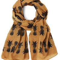 ModCloth Fruits Strum Punch Scarf