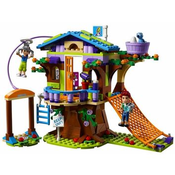 BELA Girl Series Mias Tree House Building Blocks Set Kids Classic Model Gifts Toys For Children Compatible Legoings Friends