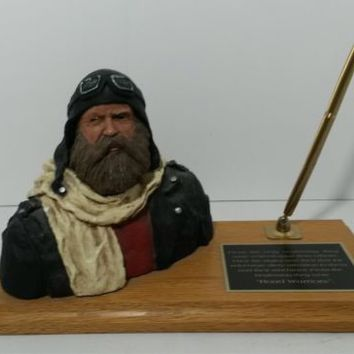 Mark Patrick Limited Edition Sculpture 'Road Warrior' Biker Art Numbered Signed