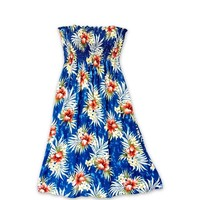 Hibiscus Isles Blue Moonkiss Hawaiian Dress