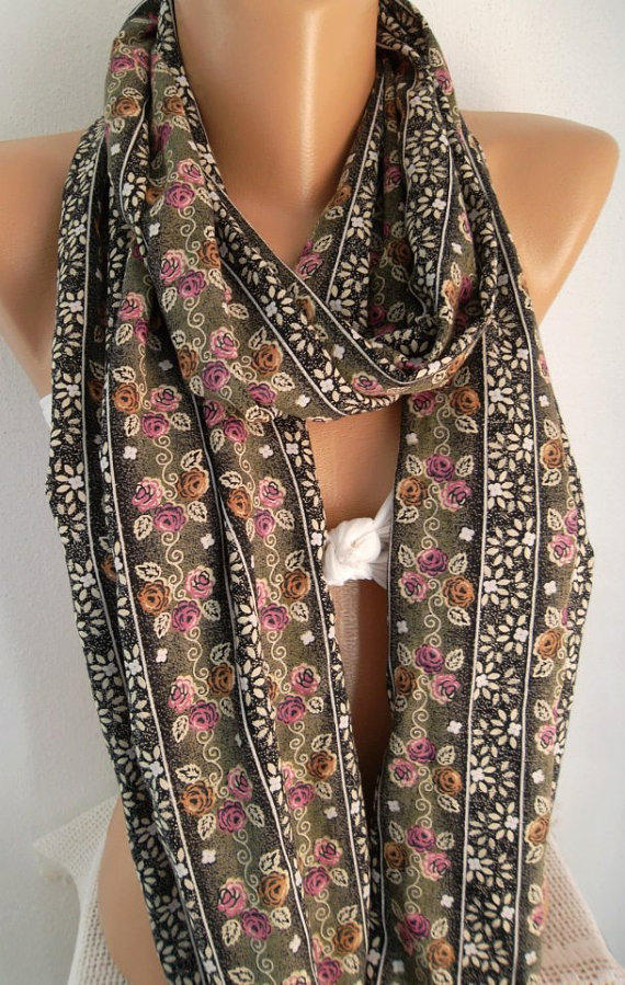 Super Loop -Trend Scarf - Infinity Scarf Loop Scarf Circle Scarf - Tube Scarf - It made with good quality cotton  fabric - Super Loop