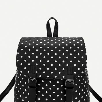 Detention Mini Backpack - Polka Dot
