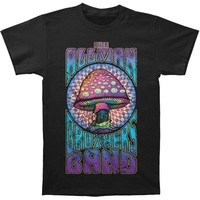 Allman Brothers Men's  Purple Shroom T-shirt Black