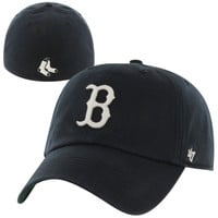 Boston Red Sox '47 Brand Franchise Harbor Fitted Hat – Navy Blue