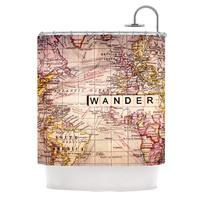 "Sylvia Cook ""Wander"" Shower Curtain"