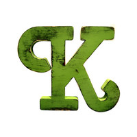 Letter K (Pictured In jungle) Home Decor Large Wooden Letters Wedding Guest Book Kids Room Nursery Photo Prop Shabby Chic