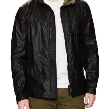 Belstaff Men's City Master Signature Waxed Jacket - Black -