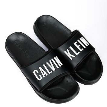 """Calvin Klein"" Casual Woman Sandals Slipper Shoes"