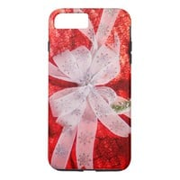 Red Christmas Wrap iPhone 8 Plus/7 Plus Case