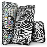 Toned Zebra Print - 4-Piece Skin Kit for the iPhone 7 or 7 Plus