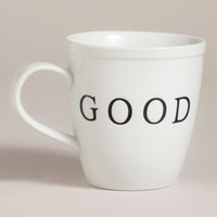 Good Morning Mugs Set of 2 - World Market