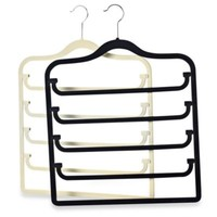Real Simple® Slimline 5-Tier Swivel Pant Hanger