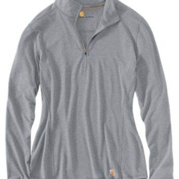 Carhartt Force Performance 1/4-Zip Shirt for Ladies | Bass Pro Shops