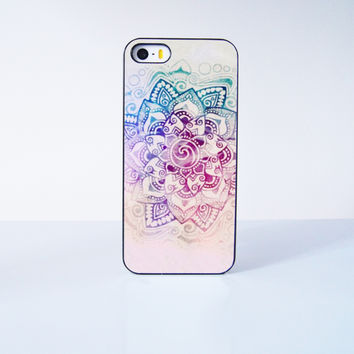 Mandala Flower  Plastic Case Cover for Apple iPhone 5s 5 6 Plus 6 4 4s  5c
