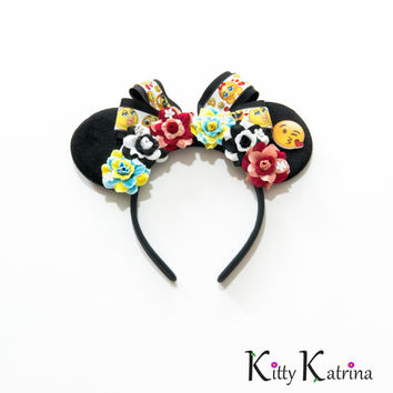Emoji Disney Ears Headband, Mouse Ears, Disney Headband, Emoji Headband, Disney Bound, Disneyland, Disney World, Disneyland Tokyo