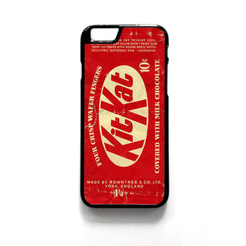 USA Rowntree KitKat 10 cent candy 1950s-1960s for phone case iPhone 4/4S, iPhone 5/5S/5C, iPhone 6/6S/6 Plus/6S Plus