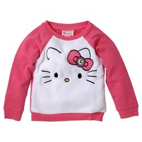 Toddler Girls' Hello Kitty Sweatshirt - White
