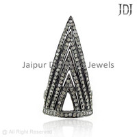 Pave Diamond Designer Ring, Pave Diamond Rings