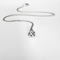 Dainty Ampersand Necklace
