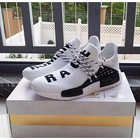 Best Online Sale Pharrell Williams x Adidas Consortium NMD Human Race White Sport Runn