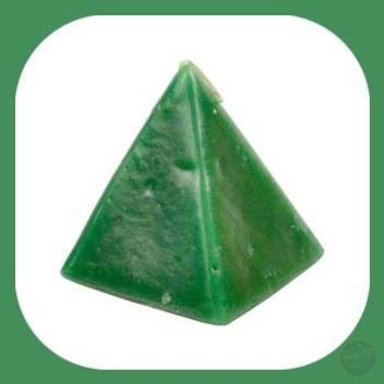 Green Cherry Pyramid Candles