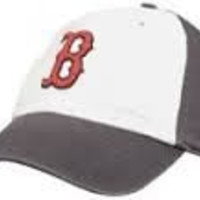 Boston Red Sox 47 Brand Freshman Clean Up Adjustable Hat / Cap