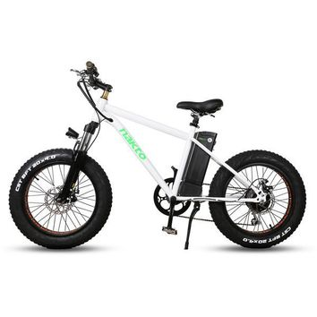 "Nakto Fat Tire 36V E-Bike 20"" Mini Cruiser"