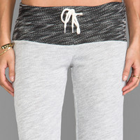 MONROW Luxe French Terry Sweats in Light