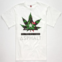 Ayc Royal Kush Delta Bar Mens T-Shirt White  In Sizes
