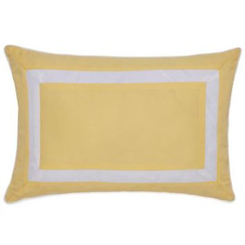 Southern Tide Savannah Oblong Throw Pillow in Lemon