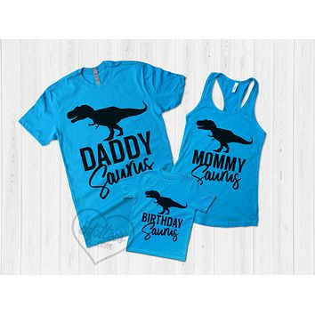 Dinosaur Family Shirts