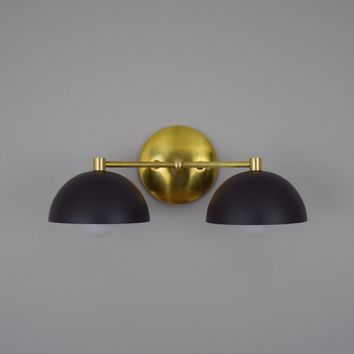 Double Dome Wall Sconce